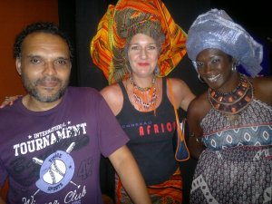 Stephanie, Marcelo e Ana Lucia